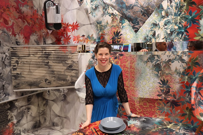Jennifer Castoldi, design consultant and creative director of Trendease International. © Innovation in Textiles