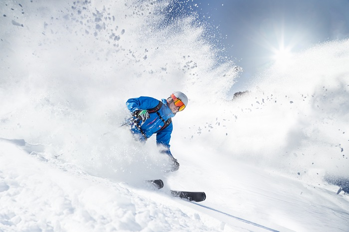 Avalanche airbags are a must for all off-piste skiers and snow boarders. © Porcher Sport