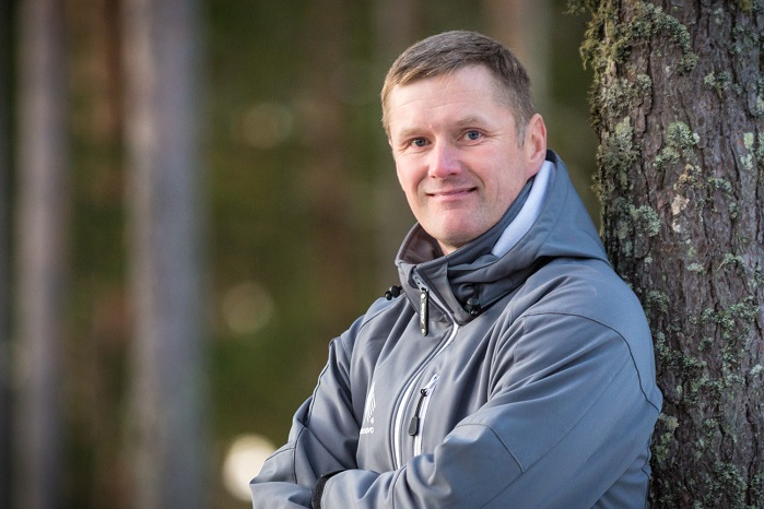 Juha Salmela, Chief Technology Officer, co-founder and inventor of the sustainable fibre innovation. © Spinnova