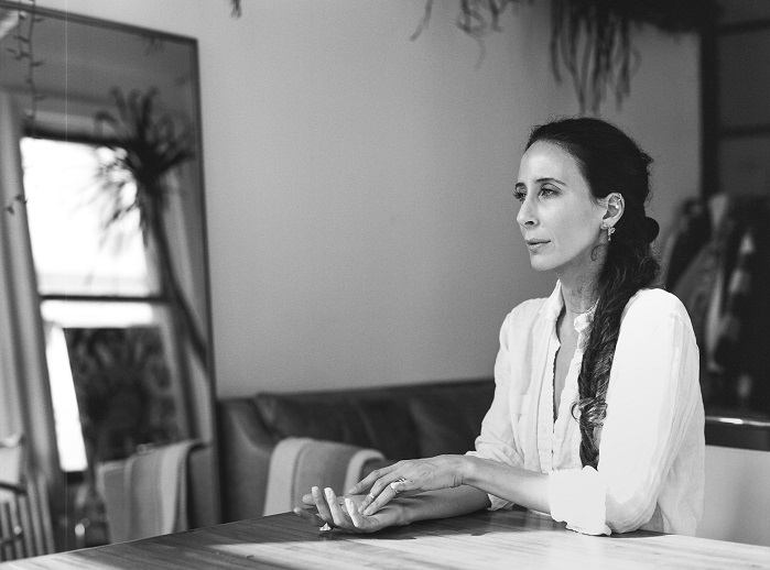 The award honours Mara Hoffman's contributions to sustainable fashion. © Heather Hazzan