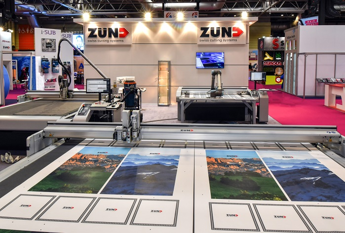 Zünd UK returns to Sign & Digital UK with a showcase of its precision cutting systems. © Zünd UK