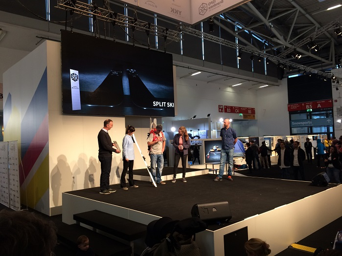 The ISPO Brandnew award ceremony. © Innovation in Textiles