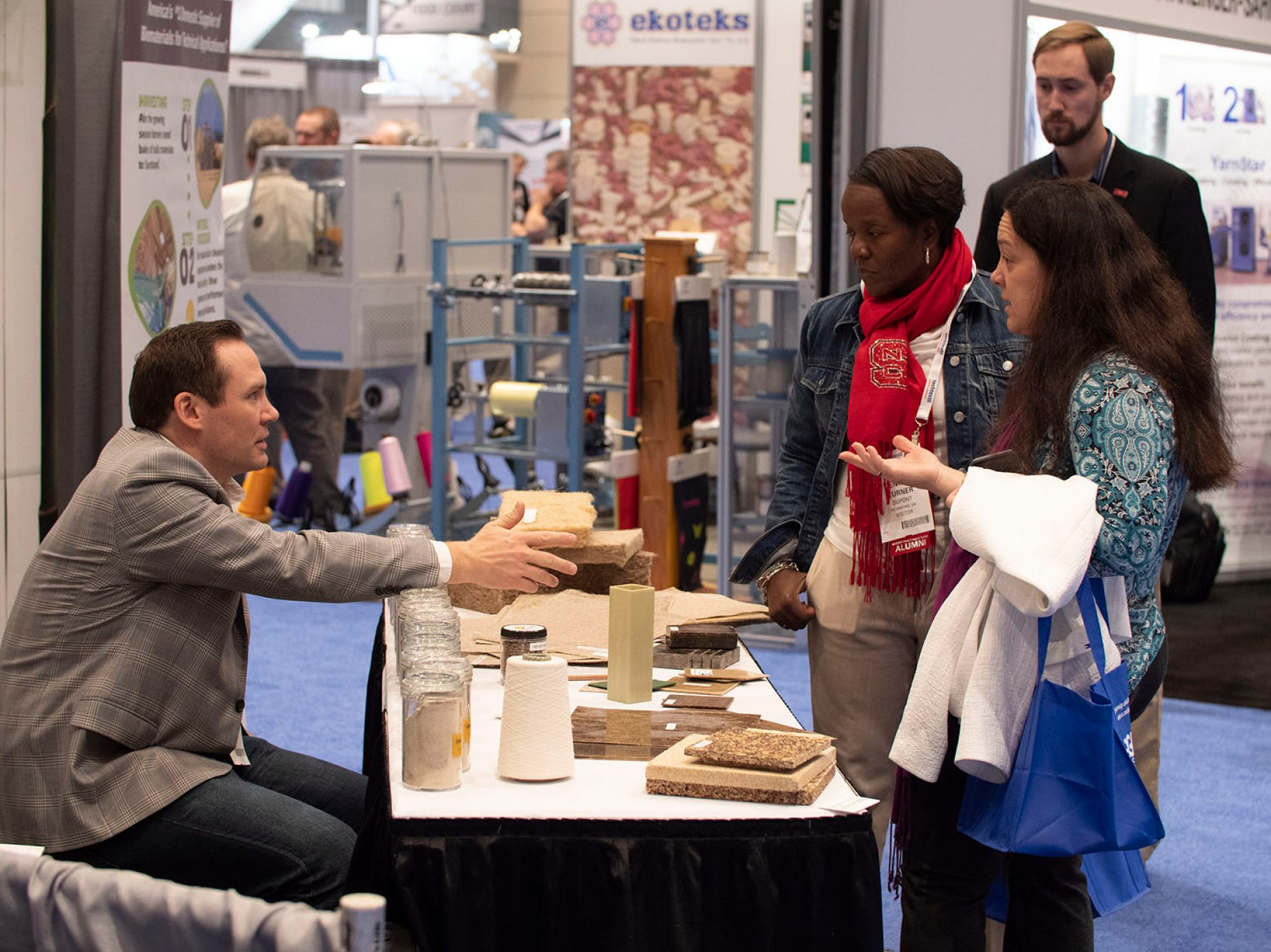 The event brought 165 exhibitors to the Raleigh area. © Messe Frankfurt/ Techtextil North America