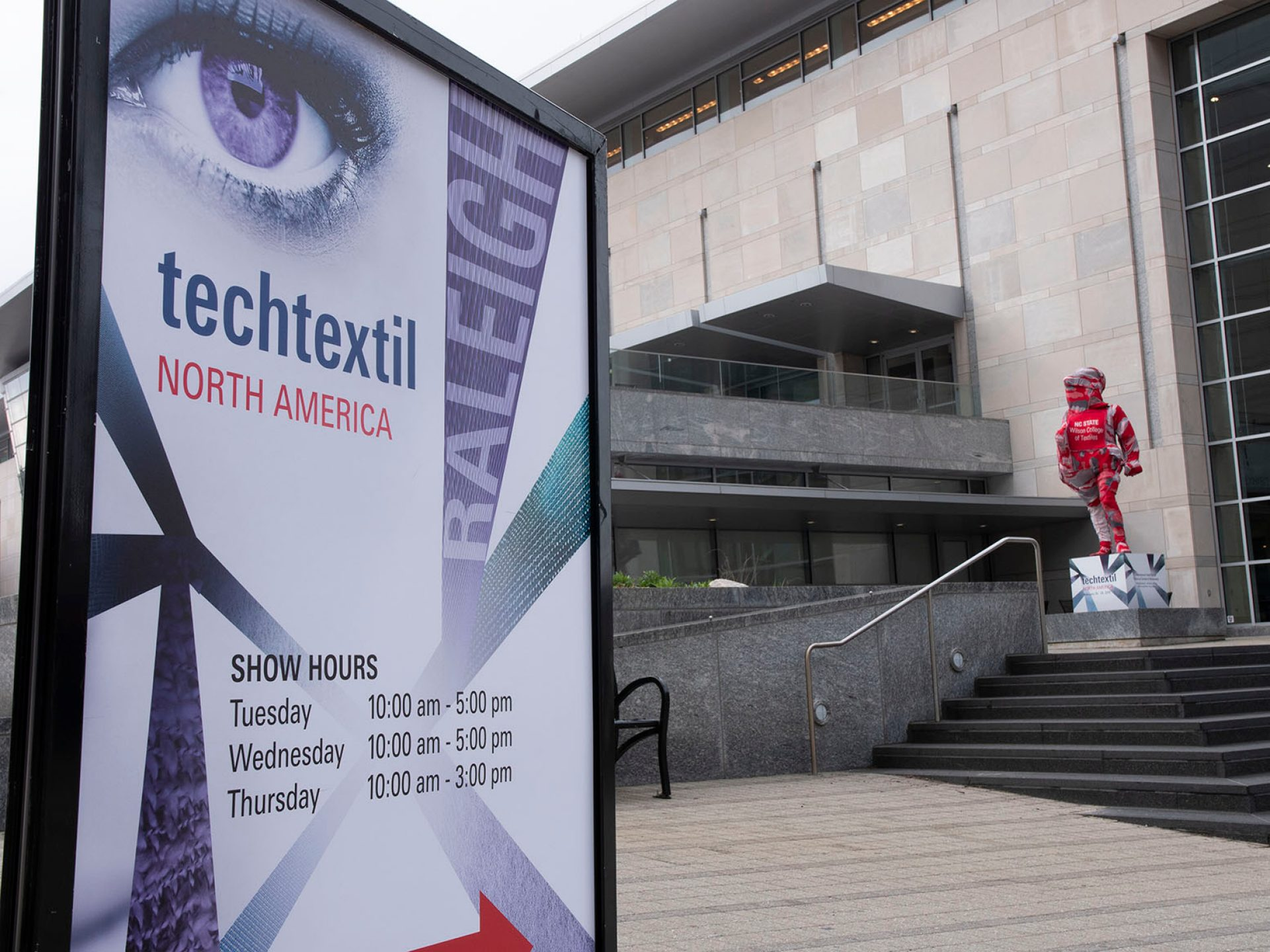 This year the show returned to the Southeast. © Messe Frankfurt/ Techtextil North America