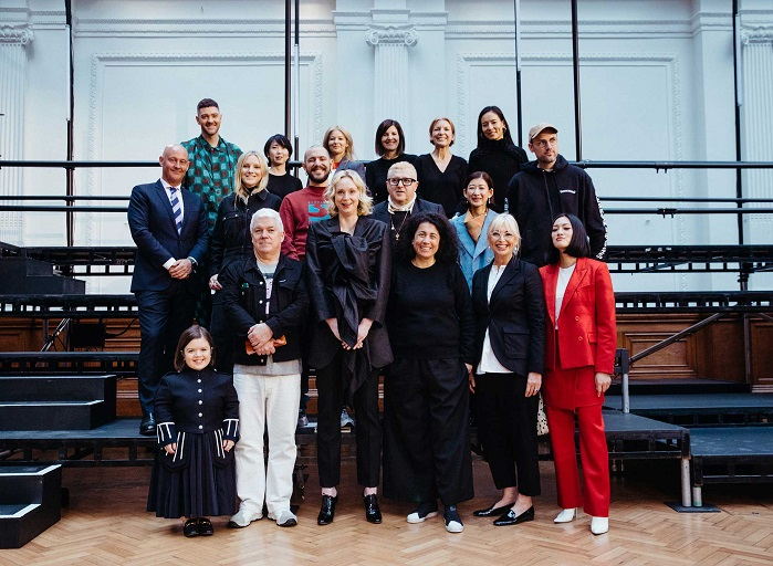 The 2019 International Woolmark Prize judges. © The Woolmark Company