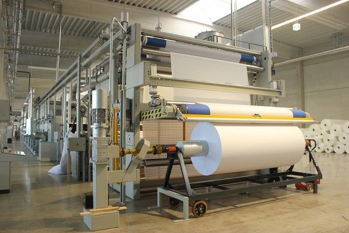 A European Montex range for the production of digital print substrates. © Monforts