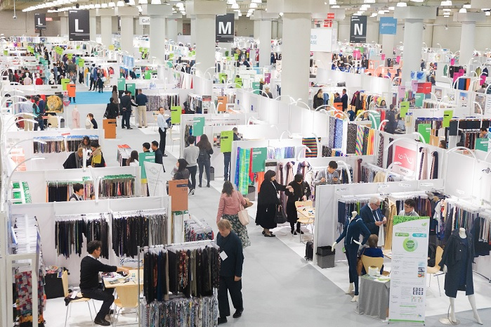In winter 2019, Texworld USA welcomed over 3,600 attendees from over 70 countries and 226 exhibitors. © Texworld USA