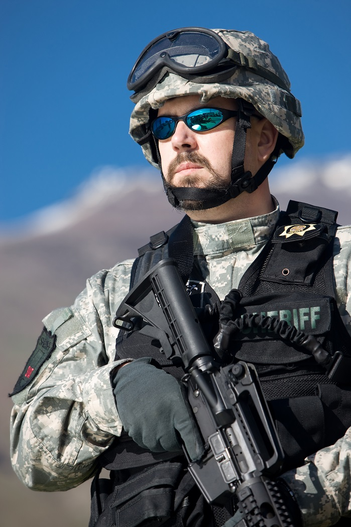 Spectra is used by militaries and law enforcement personnel around the world. © Heathcoat Fabrics