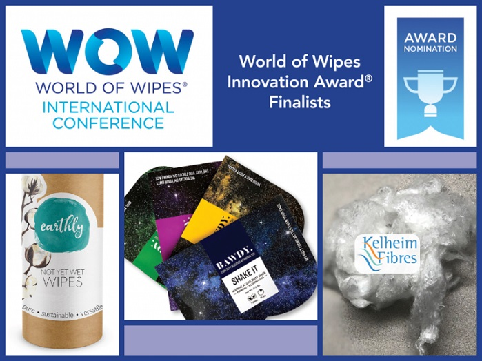 The World of Wipes Innovation Award recognises the winning product that both expands the use of nonwovens and demonstrates creativity. © INDA