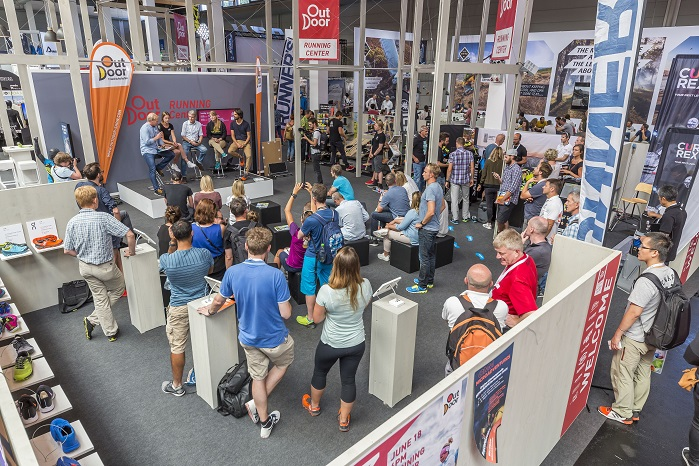 The first edition of the all-new OutDoor Friedrichshafen show takes place from 17-19 September 2019. © OutDoor Friedrichshafen