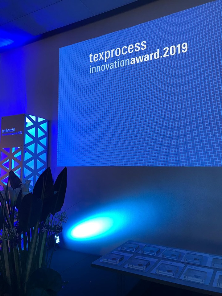 The Texprocess Innovation Award has been honouring outstanding achievements and new developments for processing textile and flexible materials since 2011. © Mess Frankfurt Exhibition GmbH.