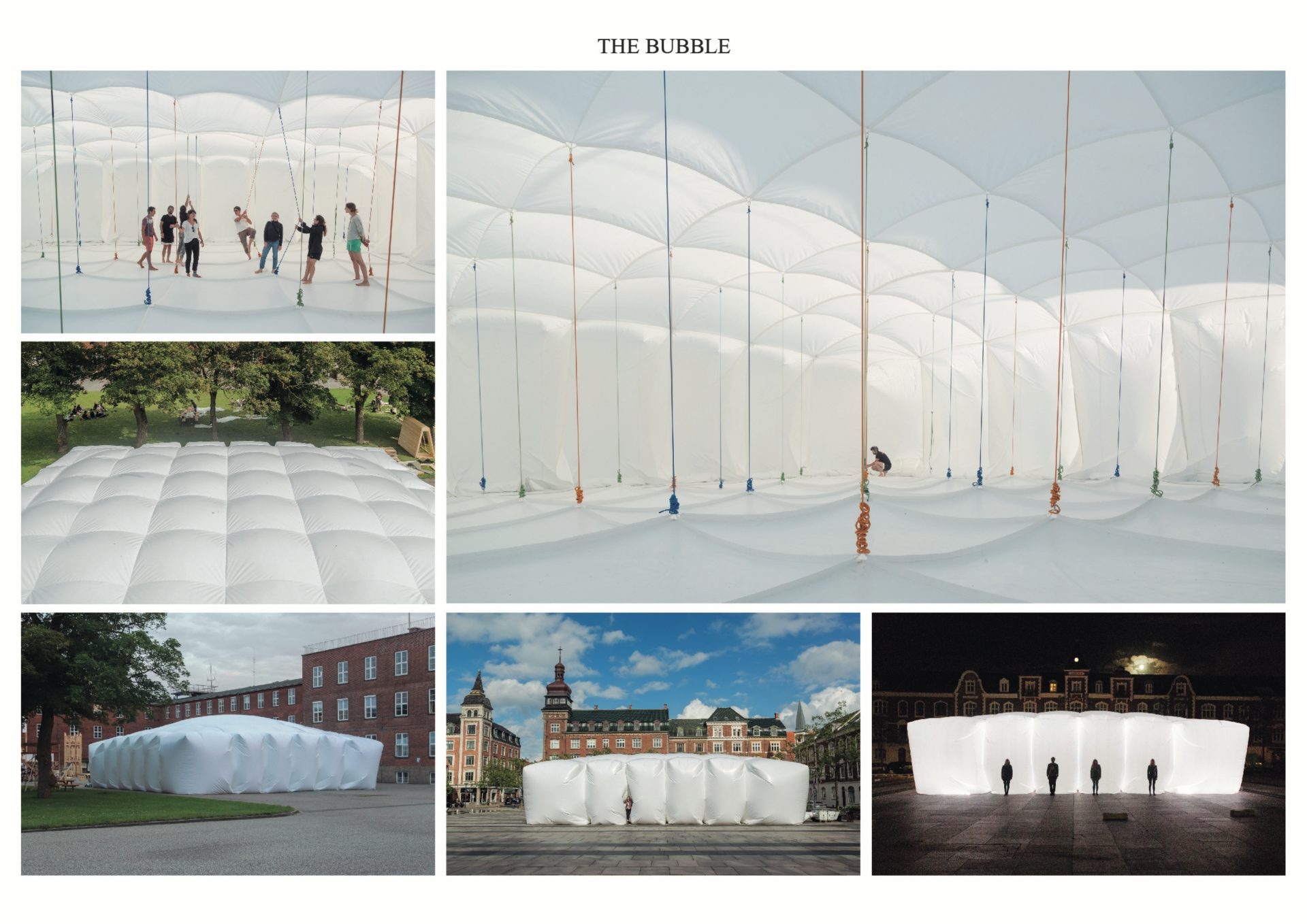 The first prize in Macro Architecture went to Hugo Cifre from the Universidad Europea de Madrid/Espacio La Nube and Miguel Angel Maure Blesa from the Universidad Politécnica de Madrid for their Bubble project. © Messe Frankfurt Exhibition GmbH.