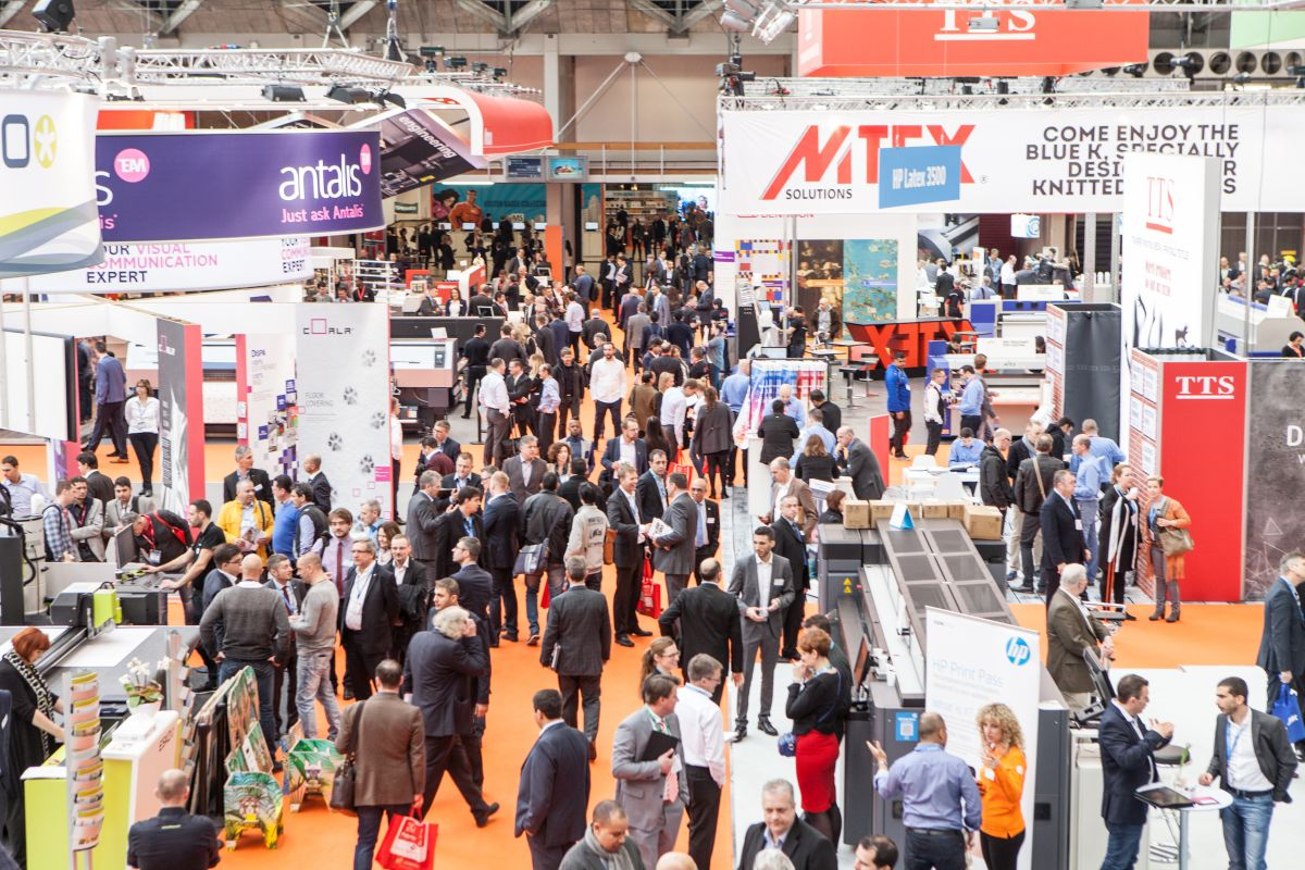 FESPA exhibition is Europe's largest international wide format professional printing exhibition. © FESPA