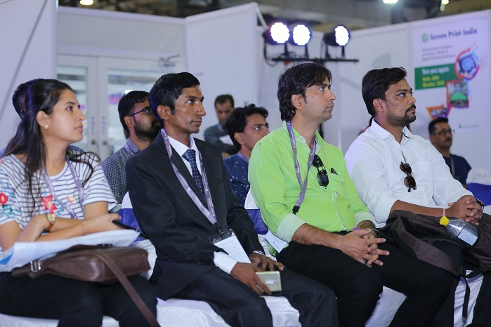 Focussed knowledge seminars is another programme feature. © Messe Frankfurt Trade Fairs India/Screen Print India