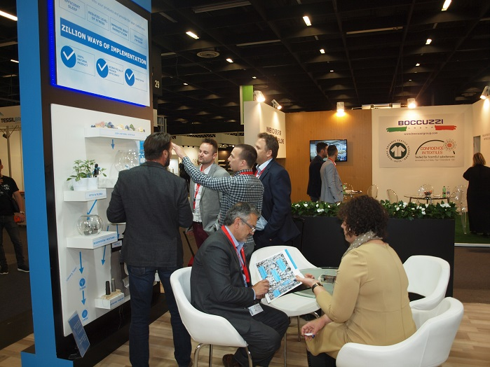 At the show, the company presented new and improved ways of Biocrystal application. © Biocrystal Technologies