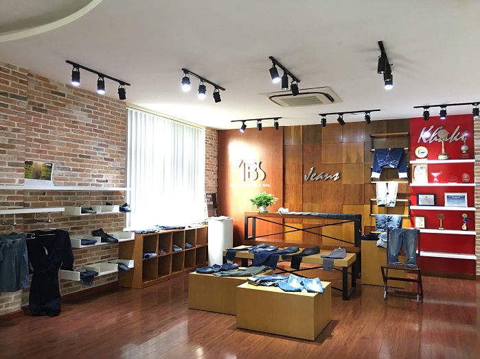 Denim show room at Tuong Long. © Tuong Long