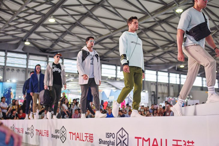The fashion show with Tmall is one of the highlights at ISPO Shanghai. © ISPO