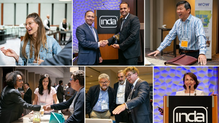 WOW 2019 provided valuable programme content with the latest innovations and presentations. © INDA