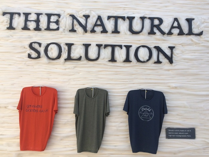 DEVOLD merino wool collection at OutDoor by ISPO 2019. © Anne Prahl