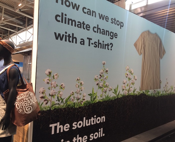 Patagonia regenerative organic agriculture pilot at OutDoor by ISPO 2019. © Anne Prahl