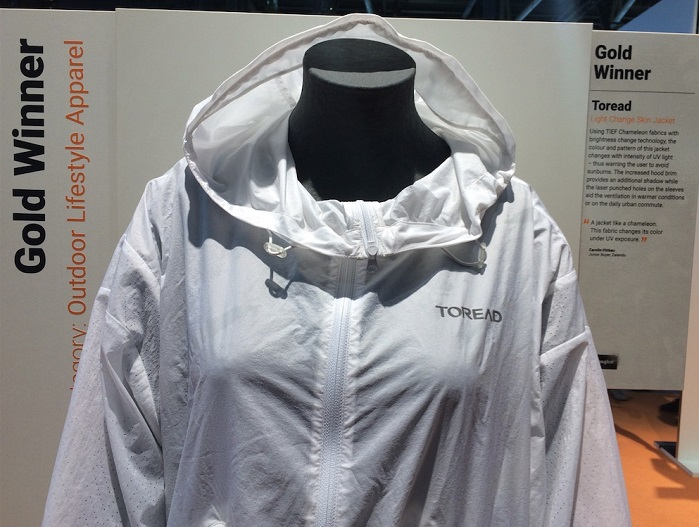 Toread Light Change Skin Jacket at OutDoor by ISPO 2019. © Anne Prahl