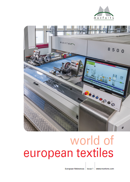 Monforts World of European Textiles. © Monforts