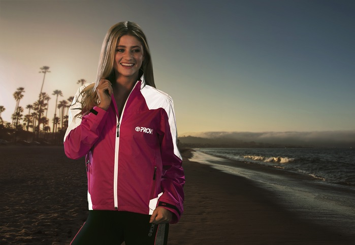 Proviz Sports has announced its jackets will be made from recycled plastic bottles. © Proviz Sports