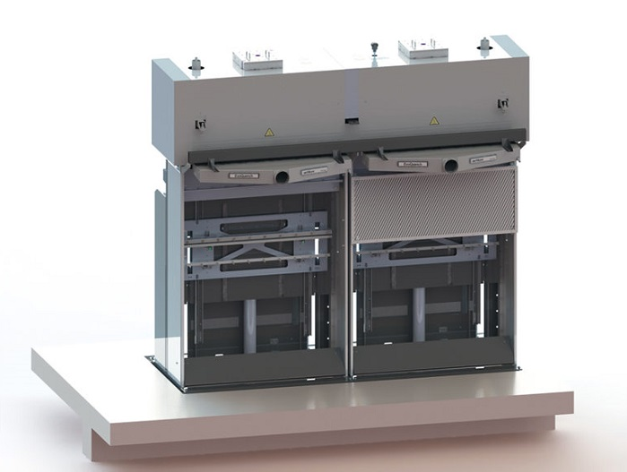 Setting new standards in polyamide microfibre yarn manufacturing: the EvoQuench PA radial quenching system. © Oerlikon