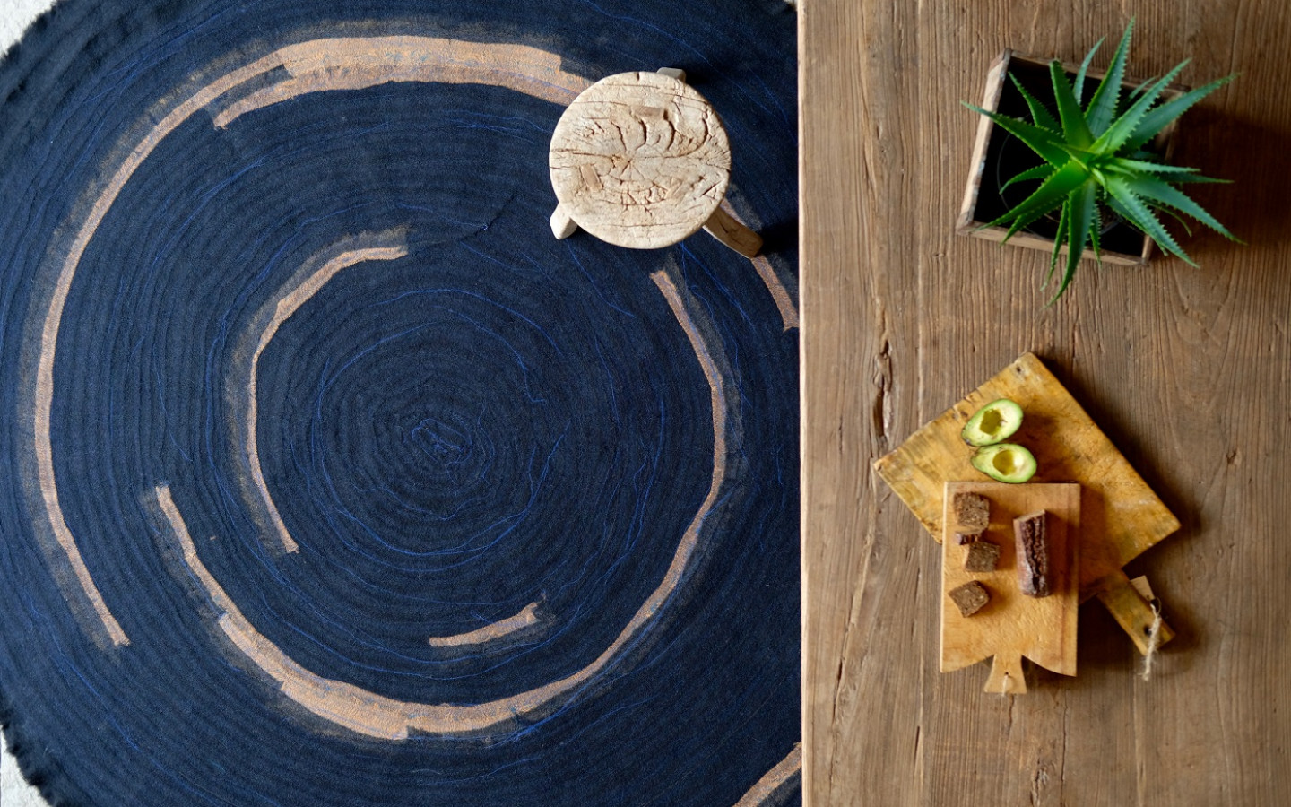 13RUGS combines woollen selvedges from ROHI's fabric production to make unique carpets. © Green Product Award