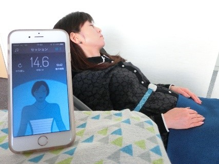 2breathe smart device. © Teijin