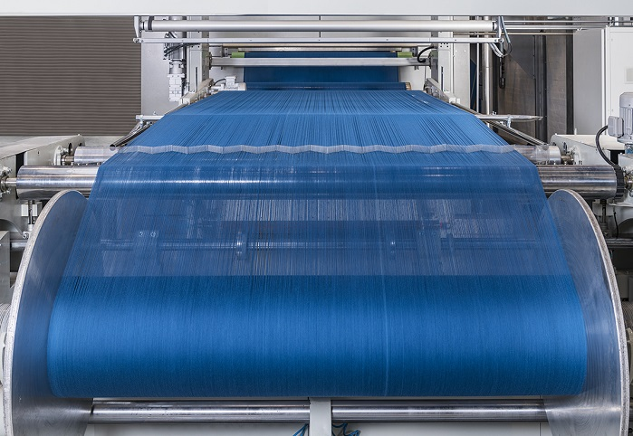 The new CYD yarn dyeing pilot line at the Monforts Advanced Technology Centre in Mönchengladbach, Germany. © Monforts