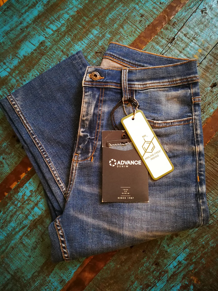 Advance Denim will offer a collection made with Archroma's aniline-free Denisol Pure Indigo. © Advance Denim