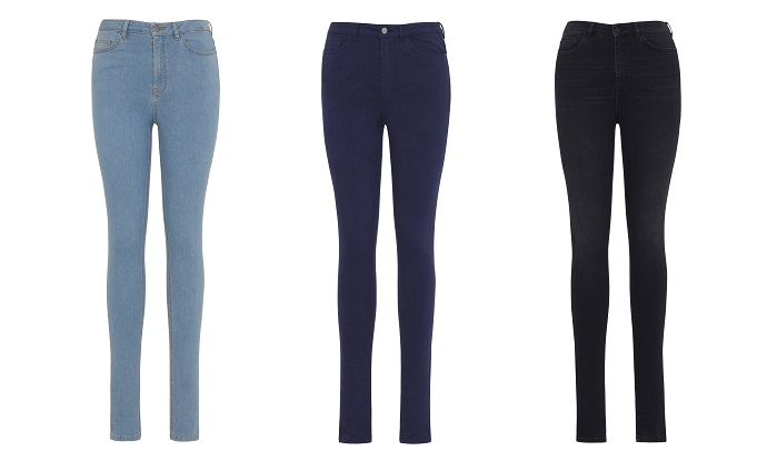 The Ultra Stretch Jean collection. © Lycra/ Long Tall Sally