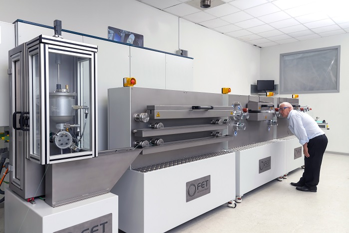 FET launches new laboratory-scale wet spinning system. © FET