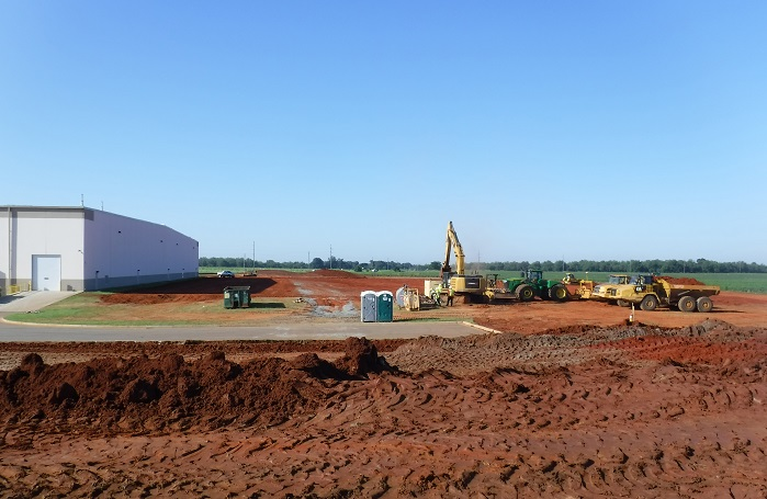 Sandler invests US$ 60 million in the expansion of Sandler Nonwoven Corporation in Perry, GA. © Sandler