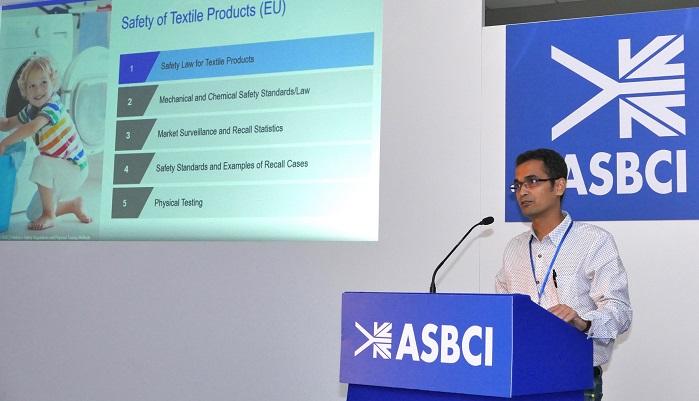 Keynote speaker Sheikh Minhazuddin, TÜV SÜD. © ASBCI