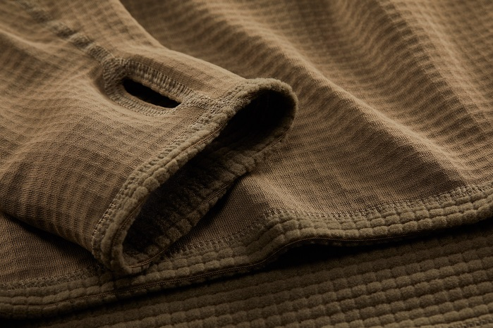 Level II Grid Knit Shirt. © Polartec