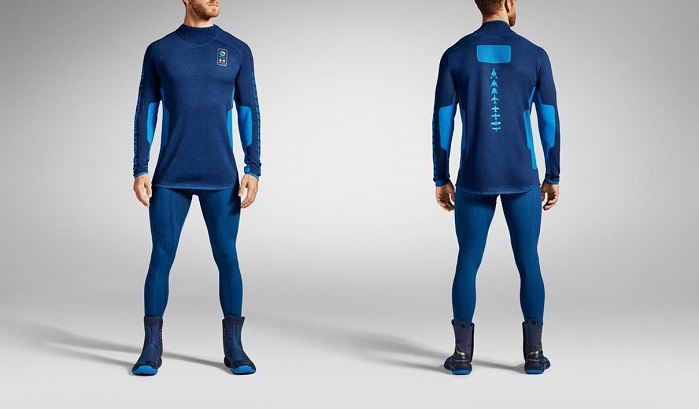 New line of spacewear for Virgin Galactic. © Under Armour
