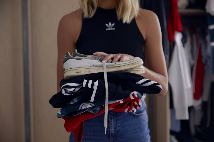 adidas commits to reducing carbon, water and waste footprint with new adidas Infinite Play service. © adidas