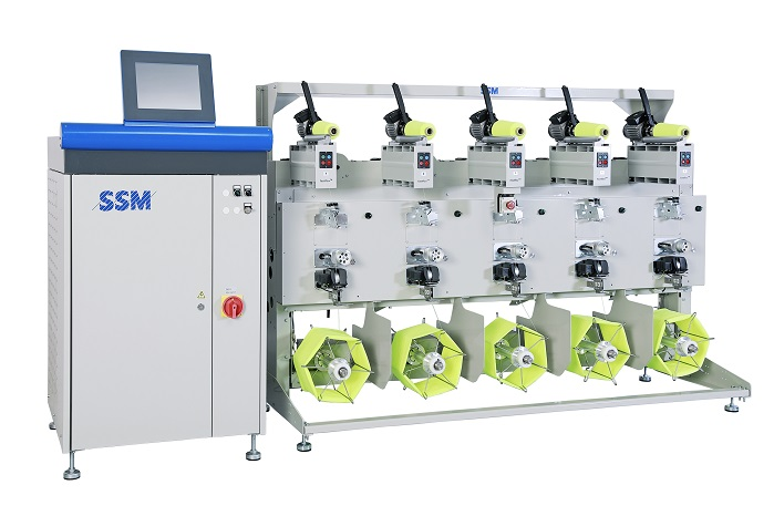 Precision package winder PWX-MTC is designed to enable quick response to market trends. © SSM