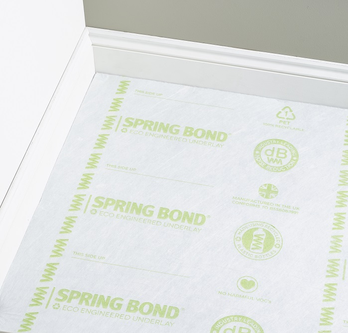 SpringBond products will shortly be available through RIBA Product Selector and NBS Plus. © Texfelt