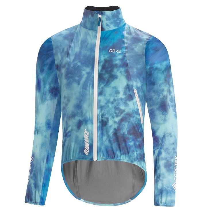 The new jacket will offer breathability and a durable beading surface. © Gore Wear
