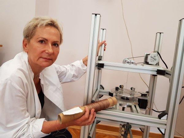 Professor Katarzyna Grabowska. © Łódź University of Technology