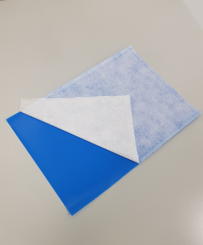 MED 5710SI single-sided soft-skin silicone adhesive nonwoven material. © Avery Dennison Medical