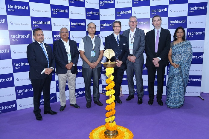Techtextil India opened in Mumbai this week. © Techtextil India