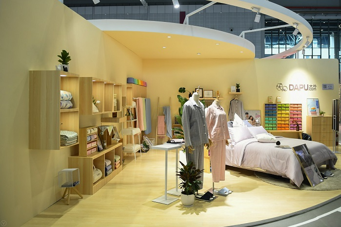 In March 2020, the Spring Edition will showcase a range of home textile products. © Intertextile Shanghai Home Textiles – Spring Edition