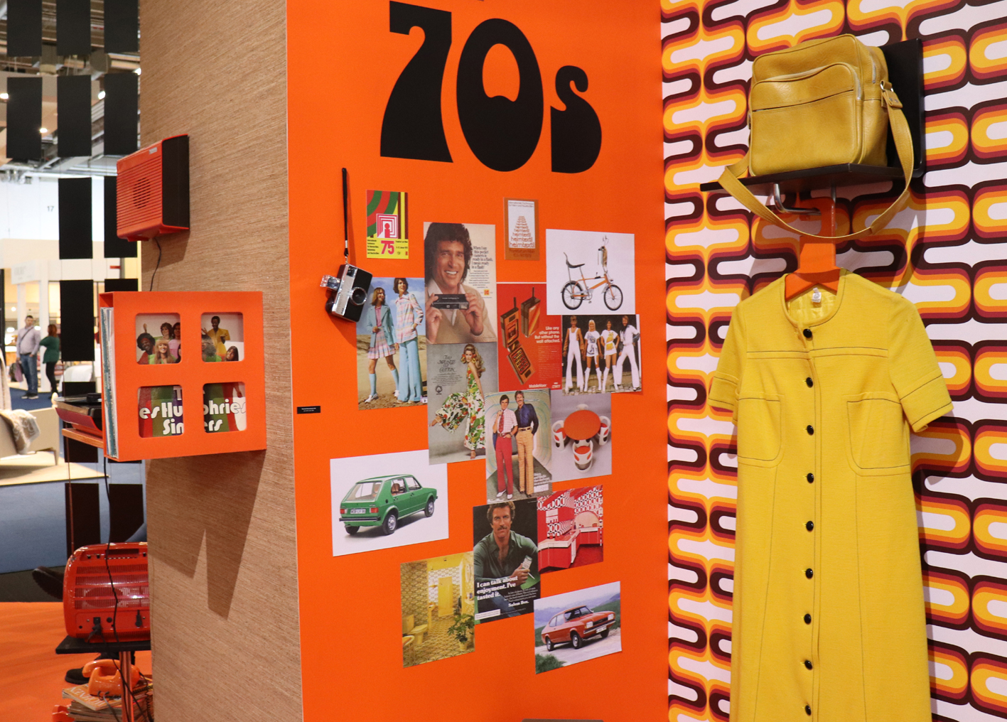 Looking back to the 1970s at Heimtextil 2020.