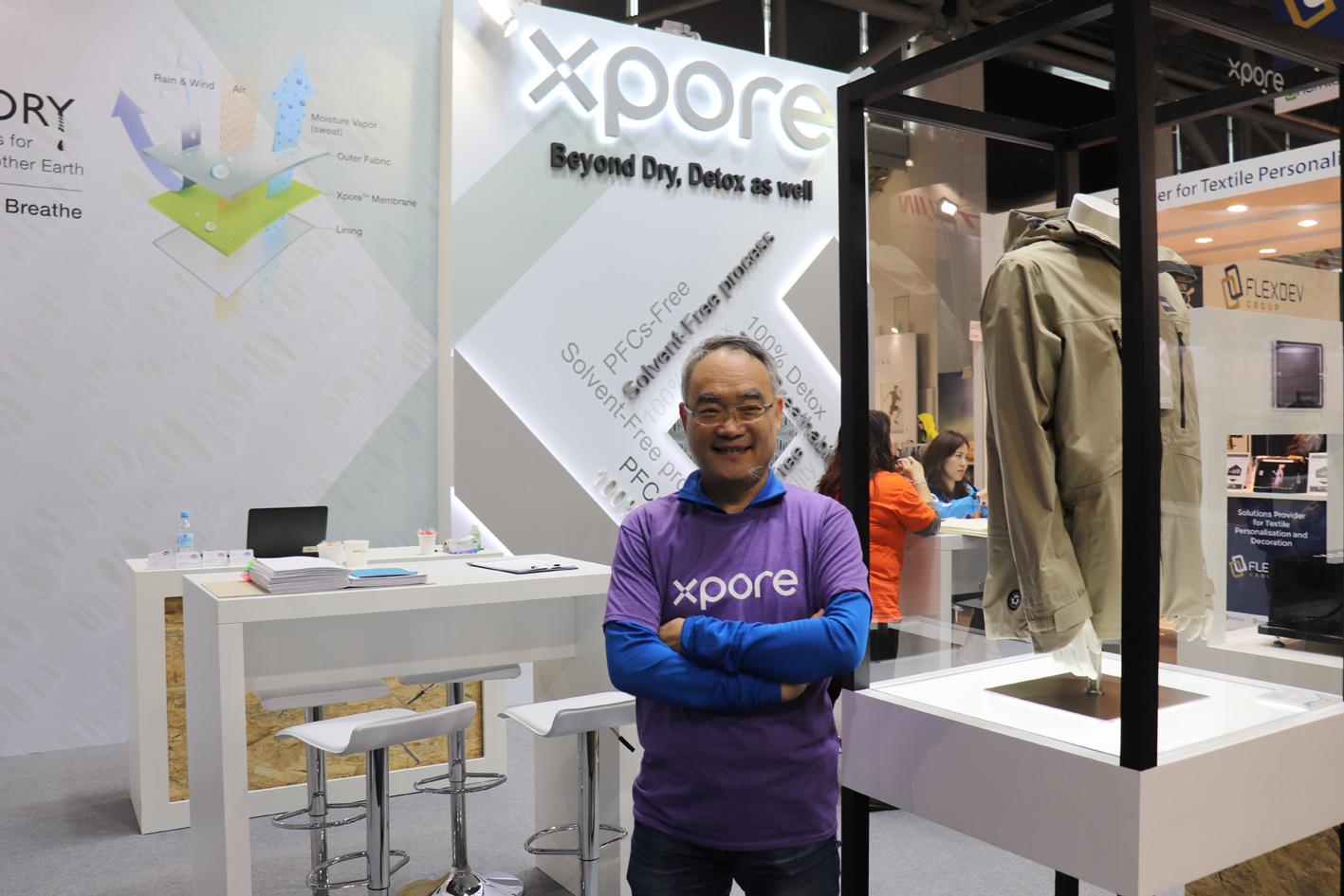 Dr ZC Chen at ISPO 2020