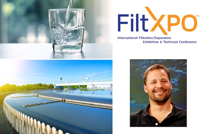 FiltXPO speakers to address global water sustainability. © INDA.