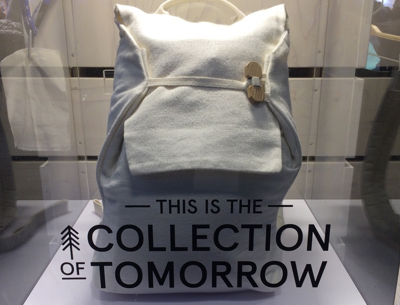 Bergans recyclable backpack at ISPO Munich January 2020 © Anne Prahl